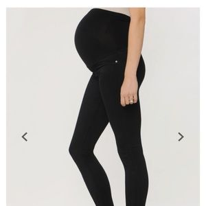 AG secret fit maternity pants- black